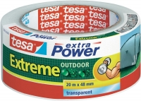 Tesa extra Power Extreme Outdoor Kle­be­band trans­pa­rent