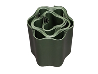 Current-conducting plastic tape, green-white, 1m, 10mm wide.
